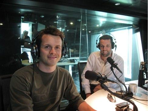 Dave interviewed @ Fox FM.